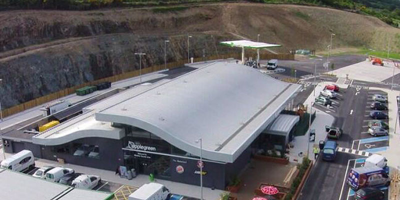 Applegreen M11 Service Station Select Roofing