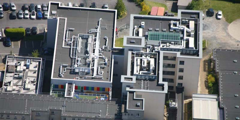 Crumlin Hospital Select Roofing