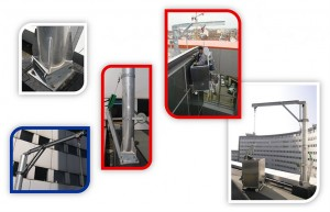 GPP Davits System - Suspended Access Systems
