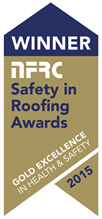 NFRC Safety in Roofing Awards Winner