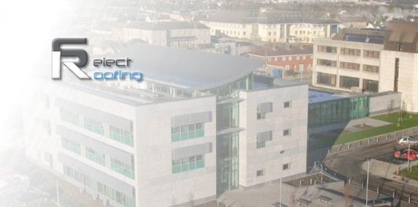 Select Roofing - Portlaoise Town Hall Project