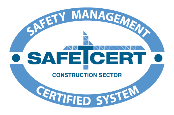 Select Roofing accredited with Safe-T-Cert