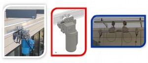 TPTR Powered Trolley System - Suspended Access Systems
